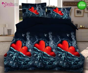 5D спално бельо с код B-558