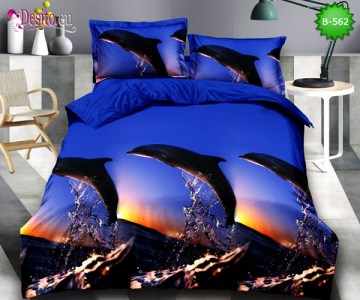 5D спално бельо с код B-562