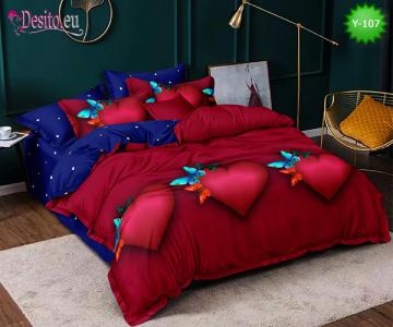 Единично спално бельо с код Y-107