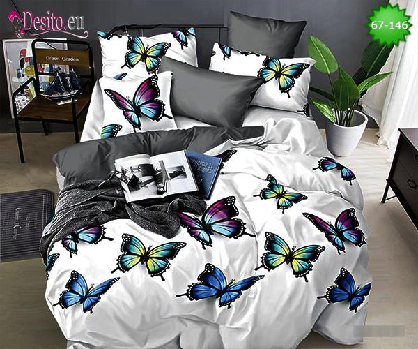 5D спално бельо с код 67-146