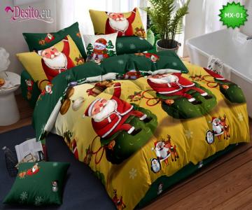 Коледно спално бельо с код MX-01
