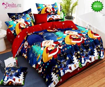 Коледно спално бельо с код MX-02