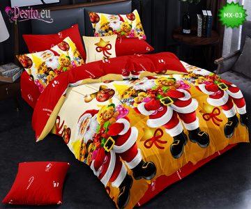Коледно спално бельо с код MX-03