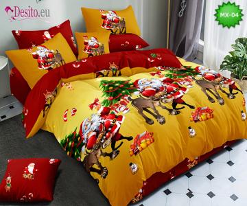 Коледно спално бельо с код MX-04