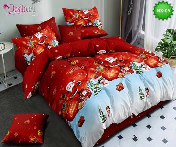 Коледно спално бельо с код MX-05