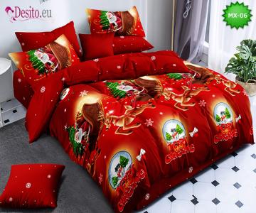 Коледно спално бельо с код MX-06