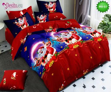 Коледно спално бельо с код MX-07