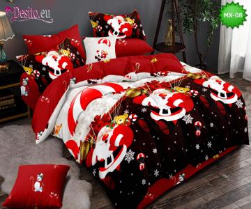 Коледно спално бельо с код MX-08