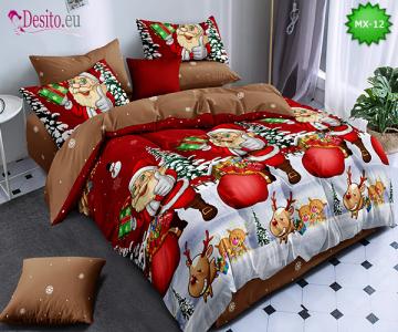 Коледно спално бельо с код MX-12
