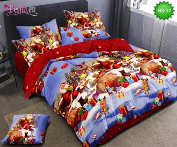 Коледно спално бельо с код MX-17