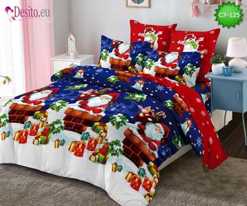 Коледно спално бельо с код C7-125