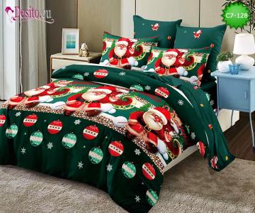Коледно спално бельо с код C7-128