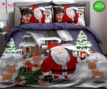Коледно спално бельо с код 44-112