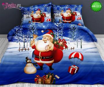 Коледно спално бельо с код 44-113