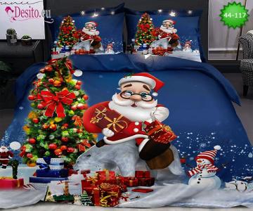Коледно спално бельо с код 44-117