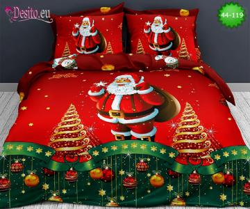 Коледно спално бельо с код 44-119