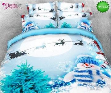 Коледно спално бельо с код 44-122