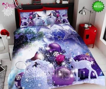Коледно спално бельо с код 44-124