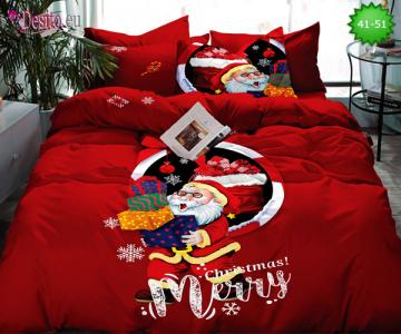 Коледно спално бельо с код 41-51