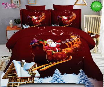 Коледно спално бельо с код 41-54