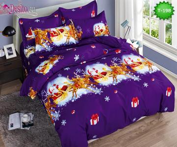 Коледно спално бельо с код T-198
