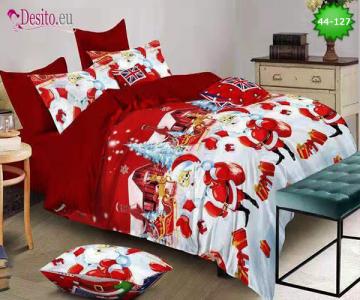 Коледно спално бельо с код 44-127