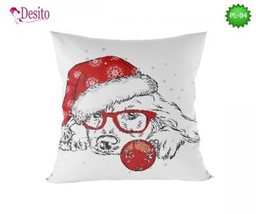 Коледна декоративна възглавница с код PL-04
