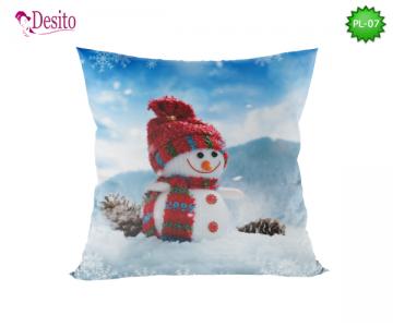Коледна декоративна възглавница с код PL-07