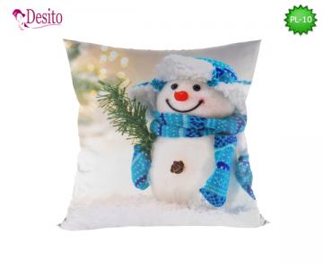 Коледна декоративна възглавница с код PL-10