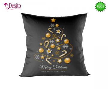 Коледна декоративна възглавница с код PL-11