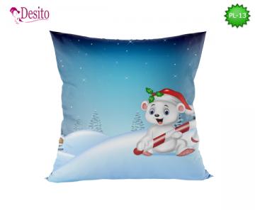 Коледна декоративна възглавница с код PL-13