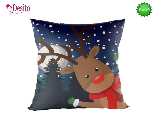 Коледна декоративна възглавница с код PL-14