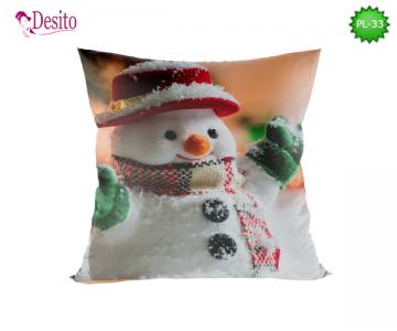 Коледна декоративна възглавница с код PL-33