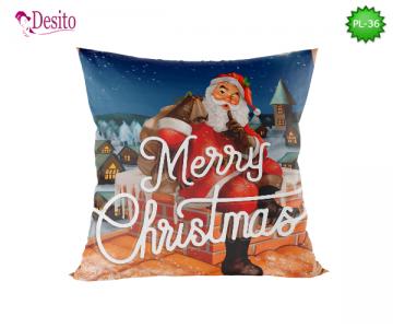 Коледна декоративна възглавница с код PL-36