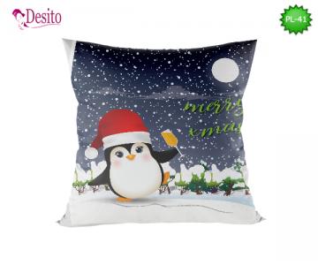 Коледна декоративна възглавница с код PL-41