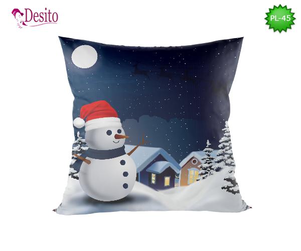 Коледна декоративна възглавница с код PL-45