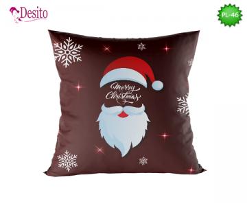 Коледна декоративна възглавница с код PL-46