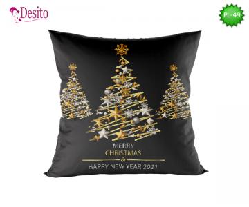Коледна декоративна възглавница с код PL-49