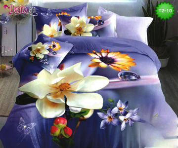 5D спално бельо с код T2-10