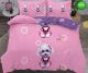 5Д Спално бельо от 100% памук, 6 части - двулицево, с код D-01