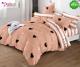 Спално бельо от 100% памук, 6 части и чаршаф с ластик с код GT-13