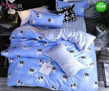 Единично спално бельо с код Y-149