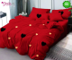 Спално бельо от 100% памук, 6 части, двулицево с код 561