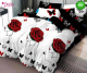 Спално бельо от 100% памук, 6 части, двулицево с код 564