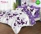 Спално бельо от 100% памук, 6 части и чаршаф с ластик с код GT-23