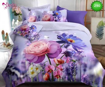 5D спално бельо с код 290