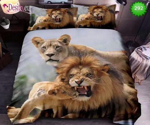 5D спално бельо с код 292