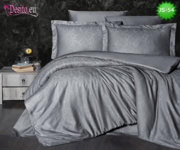 Луксозно спално бельо от памук-сатен с жакард JS-54
