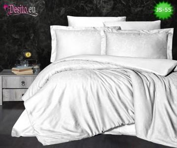 Луксозно спално бельо от памук-сатен с жакард JS-55