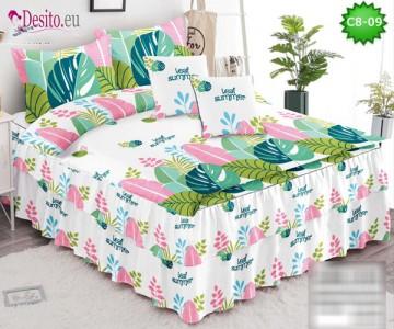 Спално бельо от 100% памук, 6 части, с код C8-09